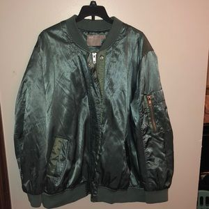 ASOS Green bomber jacket